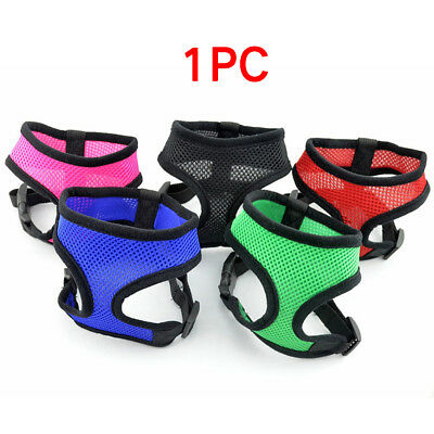 Air Mesh Puppy Pet Dog Car Harness Seatbelt Clip Lead Safe for Dogs Travel