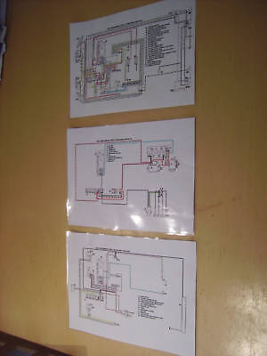 land rover colour wiring diagram sets - petrol engines series ll (2) & iia