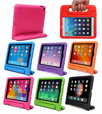 Kids Safety Shockproof Stand Handle Heavy Duty Foam Case Cover For iPad 9.7 inch