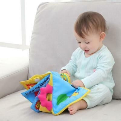 Soft Books Infant Early cognitive Development My Quiet Bookes baby goodnigh Y6C1
