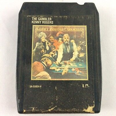 8 Track<<kenny Rogers<<the Gambler #8 Durable Service Music