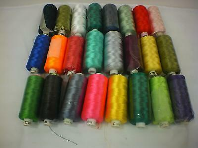 Madeira 1000m Classic Embroidery Thread (24 spools)