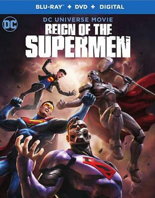 Reign Of The Supermen New Blu-Ray/Dvd