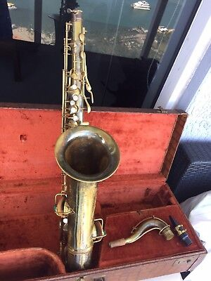 Conn New Wonder tenor Saxophone With Rolled Tone Holes Excellent Player