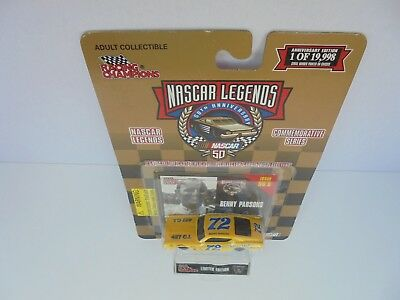 Benny Parsons #72 RC 1970 MERCURY CYCLONE 1/64th Nascar Diecast Collectable MT