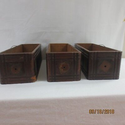 Wooden Drawers for Antique Treadle Sewing Machine Cabinet  -3 - VTG