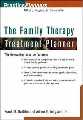The Family Therapy Treatment Planner by Frank Dattilio