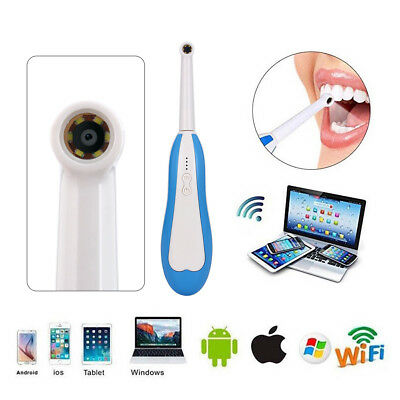 AU Dental HD Mini WiFi Wireless Intraoral Oral Camera for iPhone Android Windows