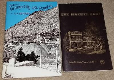 Best of Virginia City and the Comstock + Mother Lode Gold Rush 2 books history
