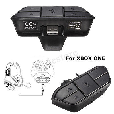 Stereo Headset Headphone Audio Games Adapter For Microsoft Xbox One Controller