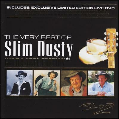 SLIM DUSTY (CD / DVD) THE VERY BEST OF : GOLD LABEL EDITION w/BONUS DVD  *NEW*