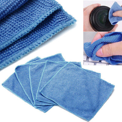 5x Microfiber PHONE Screen Cleaning Cloth Camera Lens Glasses Cleaner Square New