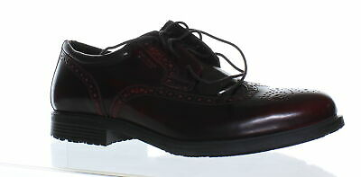 fa169035d85a10 Rockport Mens Essential Details Wp Wing Tip Cordovan Oxford Dress Shoe Size  12