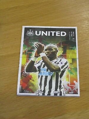 Newcastle v Manchester City Official Matchday Programme New -  29.1.2019