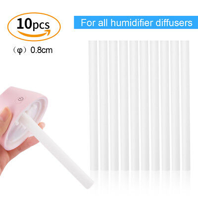 10x Mini Replacement Filter Cotton Stick USB Water Bottle Humidifier Diffuser