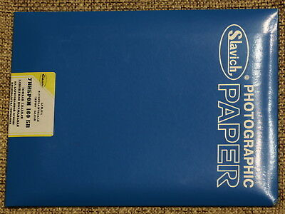 SLAVICH UNIBROM 160 BP photo paper BW glossy thin smooth normal 25sht. 13x18