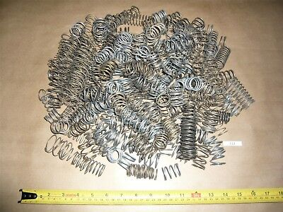 LARGE MEDIUM COMPRESSION SPRINGS ASSORTED VARIOUS SIZES TYPES JOB LOT 1.8kg L13
