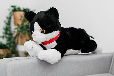 40Cm Xl Large Big Sot Plush Stuffed Black Cat Huge Toy Teddy Bear Play Cuddly