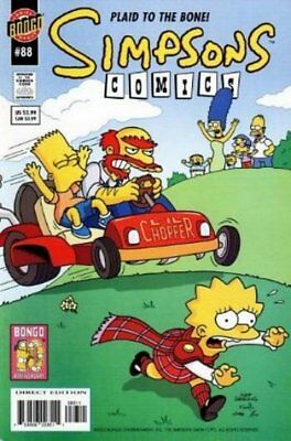 Simpsons Comics #  88 Very Fine (VFN) Bongo Comics MODERN AGE