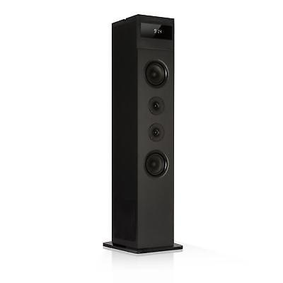Altavoz torre Bluetooth 120 W máx Radio FM MP3 USB Mando distancia -B-STOCK