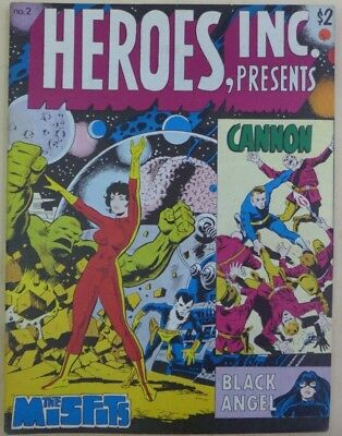Heroes, Inc. Presents Cannon #2 Wally Wood 1976 F+