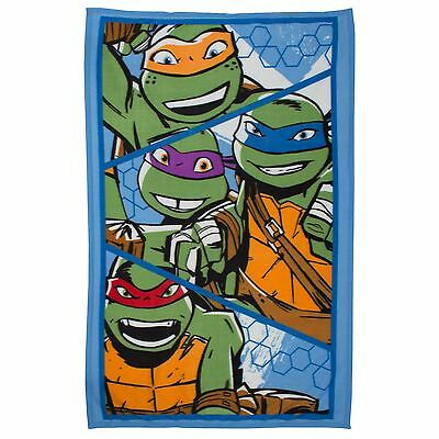 Teenage Mutant Ninja Turtles Niños Manta Polar Nuevo Oficial 100CM X 150CM