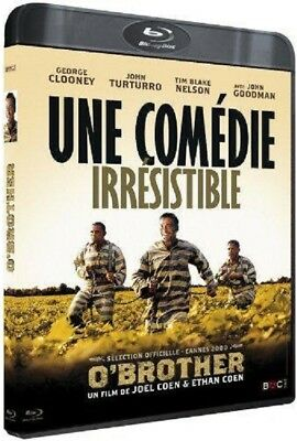 Blu Ray  :  O' BROTHER  [ Clooney, Turturro, Goodman, Nelson ]  NEUF cellophané