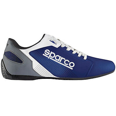 SPARCO SL-17 sneakers leisure low SHOES casual BLUE unisex leather NEW 2019