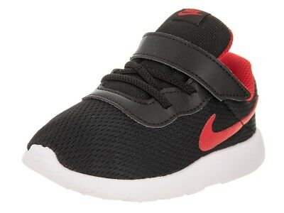 NIKE 818383-010   Boy s Tanjun TDV Toddler Running Shoes Black Red ... f86a151b9