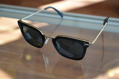 456ca62dfd6 Auth Celine Square Havana Brown Gold CL41402 S ANW 47 25 140 FREE SHIPPING