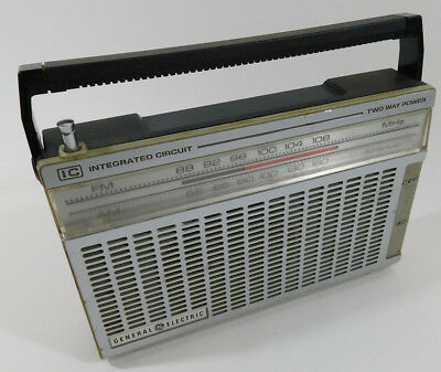 GE General Electric Radio 7-2650A FM-AM Integrated Circuit Two Way Power  Tested