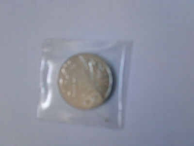 10p alphabet coin X - uncirculated £2.25 FREE coin wallet / postage
