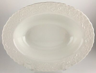 Ralph Lauren Wedgwood Claire Oval vegetable bowl 9 ""