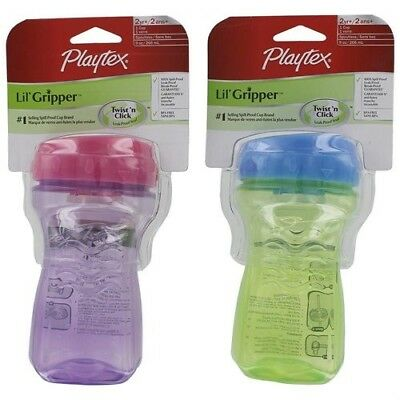Playtex Sipsters Stage 2 Spoutless Sippy Cup (Pack of 10)