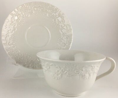 Ralph Lauren Wedgwood Claire Cup & saucer