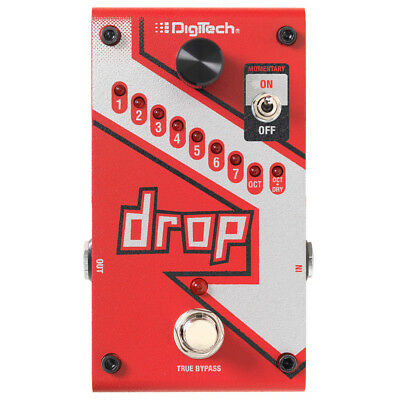 Digitech The Drop Compact Polyphonic Drop Tune Pitch-Shifter Effect Pedal - DROP