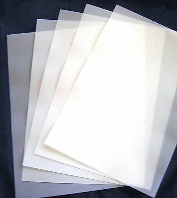 VELLUM  A4  180 gsm (50) 297x210mm Heavy Thick Translucent Paper Weddings New