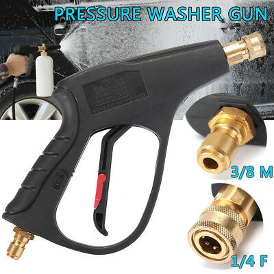 AU High Pressure Water Gun Cleaner Brush Car Washer 3/8'' Connector 160Bar/16MPa