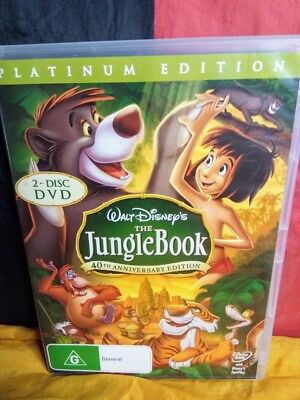 Disney's The Jungle Book - 40th Anniversary Edition (DVD, 2007, 2-Disc Set)