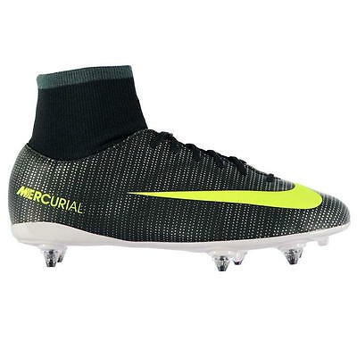 online retailer ce6bf 00562 Nike Mercurial Vapor CR7 DF SG Football Boots Junior UK 4 US 4.5Y EUR 36.5