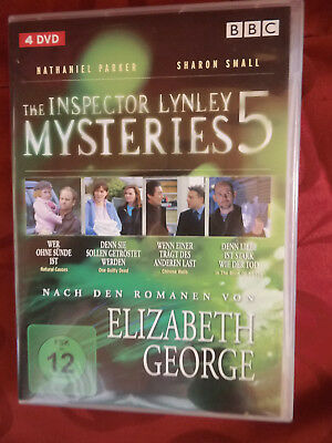 The Inspector Lynley Mysteries - Box 5 - 4 DVDs - nach Elizabeth George - Krimi