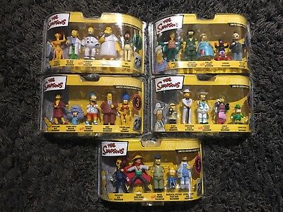 The Simpsons Limited Edition Figurine Collection 1 2 3 4 And 5 TV Memorabilia