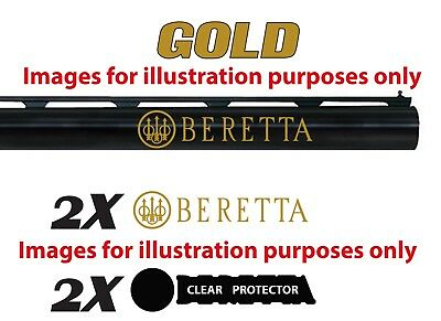 Beretta Vinyl Decal Sticker For Shotgun / Gun / Case / Gun Safe / Car / BR3