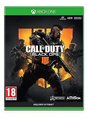 Call of Duty black Ops 4 Xbox One Game 2018 New Sealed