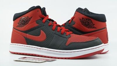 26e560c117d 2009 NIKE AIR JORDAN 1 RETRO ALPHA Size 12 OG BRED BLACK TOE 392813 ...