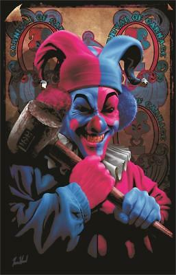 Insane Clown Posse - Carnage - Blacklight Poster - 23X35 Flocked 2008