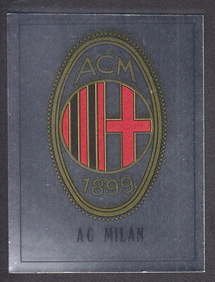 Panini - Football 90 - # 487 AC Milan Foil Badge