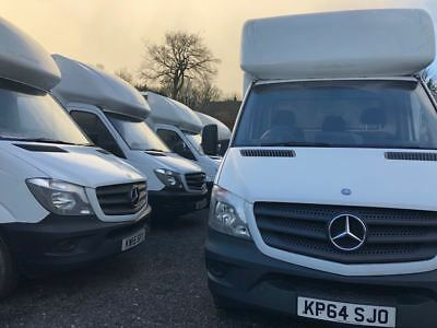 Choice - Mercedes Sprinters & Various Low Loader Luton Box Vans + Or - Tail Lift