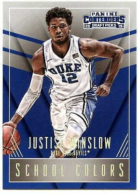 Justise Winslow #23 Panini Contenders 2015 School Colors Basketball Card (C2452)