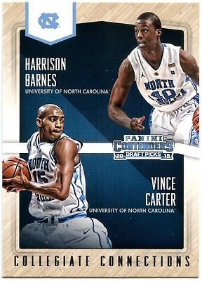 Barnes/Carter #17 Panini Contenders 2015 Collegiate Connections Chase Card C2456